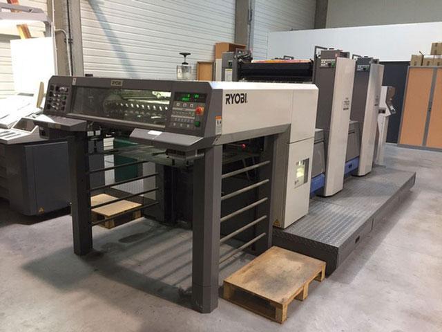 Ryobi 752 б/у 2007г - Двухкрасочная печатная машина