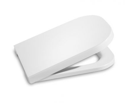 Сиденье для унитаза с крышкой ROCA The GAP мягкое закрывание белое 7801472004