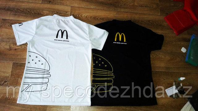Пошив футболок для McDonalds