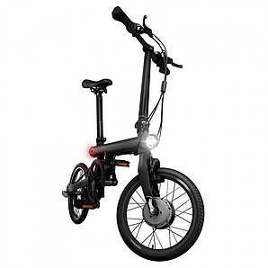 Электровелосипед Mi QiCYCLE Folding Electric Bicycle черный