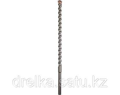 Бур sds max ЗУБР по бетону для перфоратора, 4 резца, спираль шнек