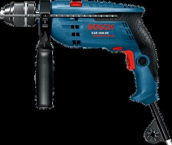 (0601218121) Ударная дрель Bosch GSB 1600 RE