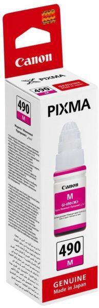 Картридж Canon 0665C001AA INK GI-490 M/Desk jet/№490/magenta/70 ml