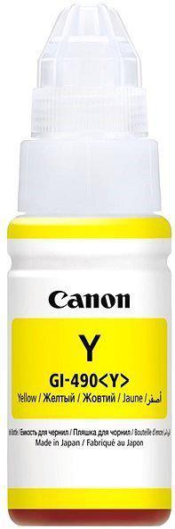 Картридж Canon 0666C001AA INK GI-490 Y/Desk jet/№490/yellow/70 ml