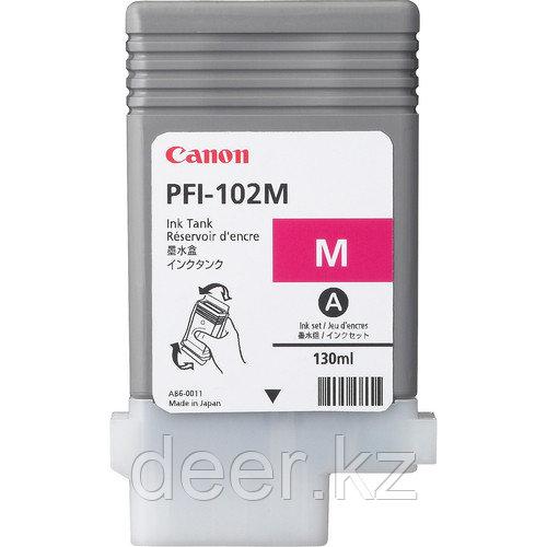 Картридж Canon 0897B001AA PFI-102M  IPF5/600/Designjet/№102/magenta/130  ml