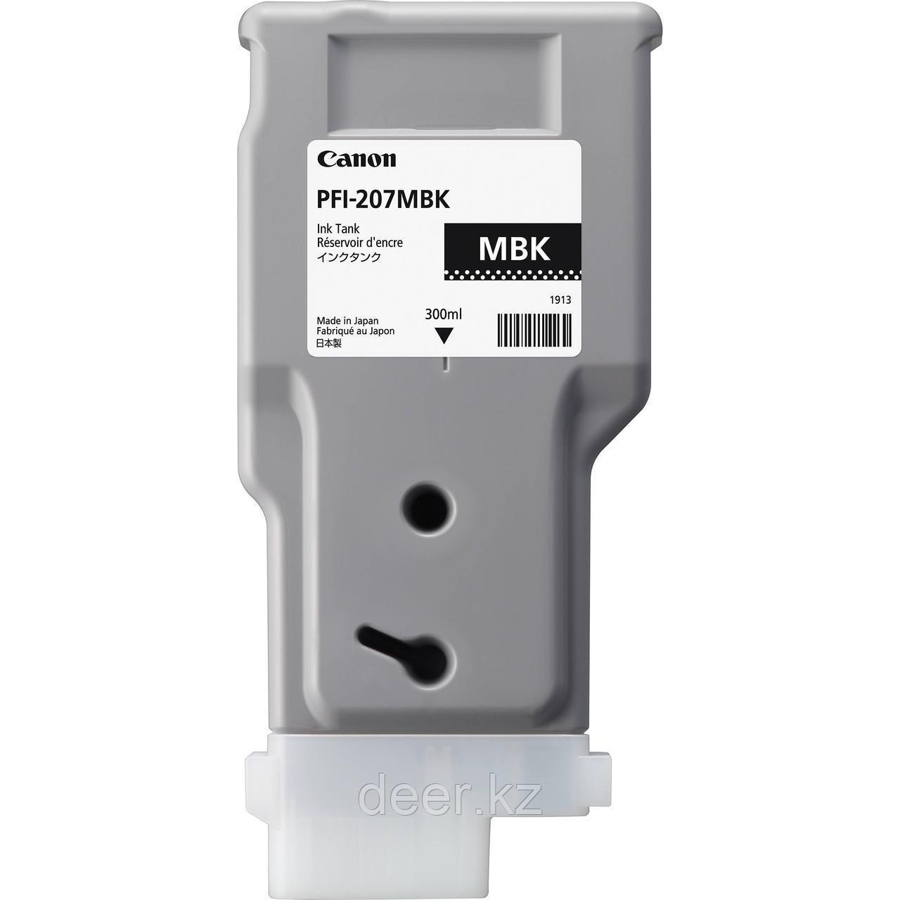 Картридж Canon 8788B001AA PFI-207MBK/Designjet/№207/black/300  ml