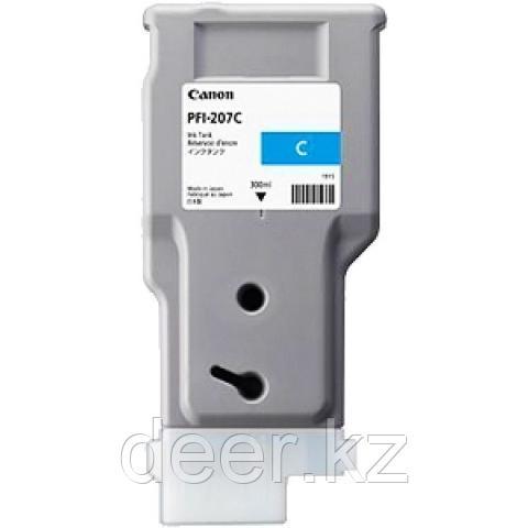 Картридж Canon 8790B001AA PFI-207C/Designjet/№207/cyan/300  ml