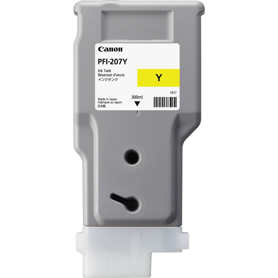 Картридж Canon 8792B001AA PFI-207Y/Ink/№207/yellow/300 ml