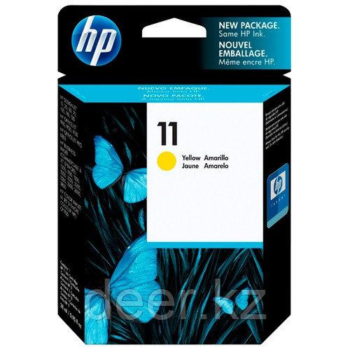 Картридж HP C4838A Desk jet/№11/yellow/28 ml