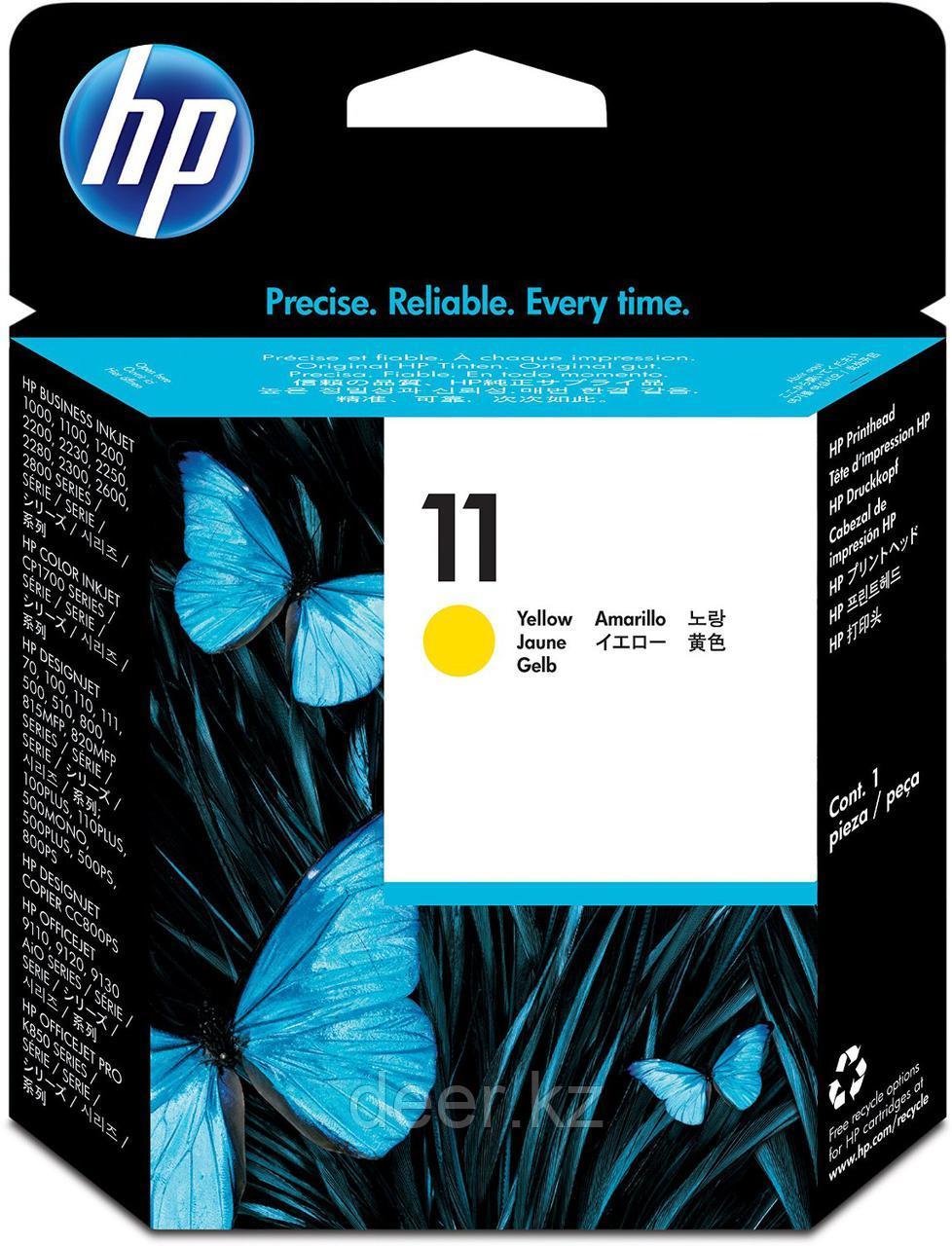 Картридж HP C4813A Ink/№11/yellow