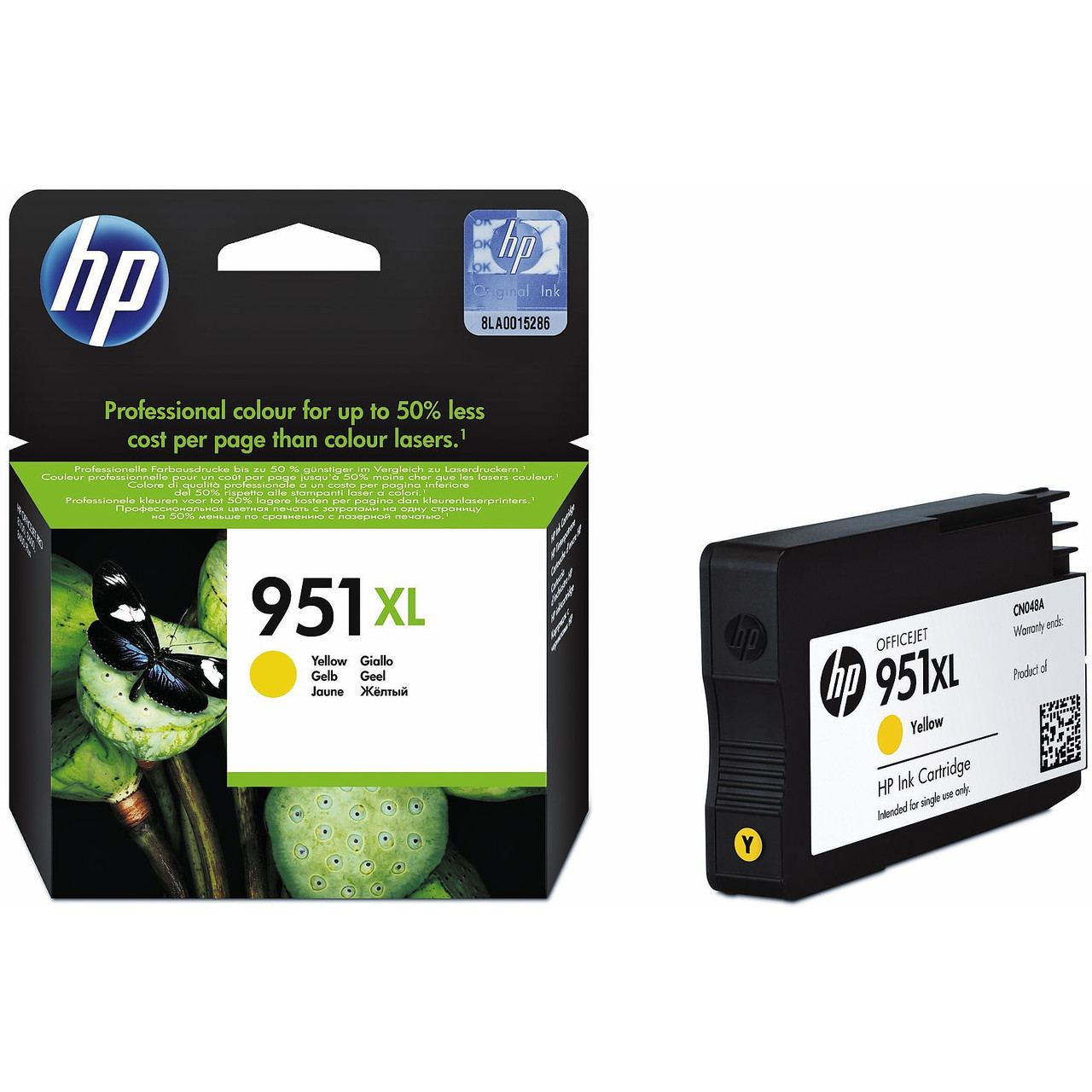 Картридж HP CN048AE#BGX Desk jet/№951/yellow/16 ml