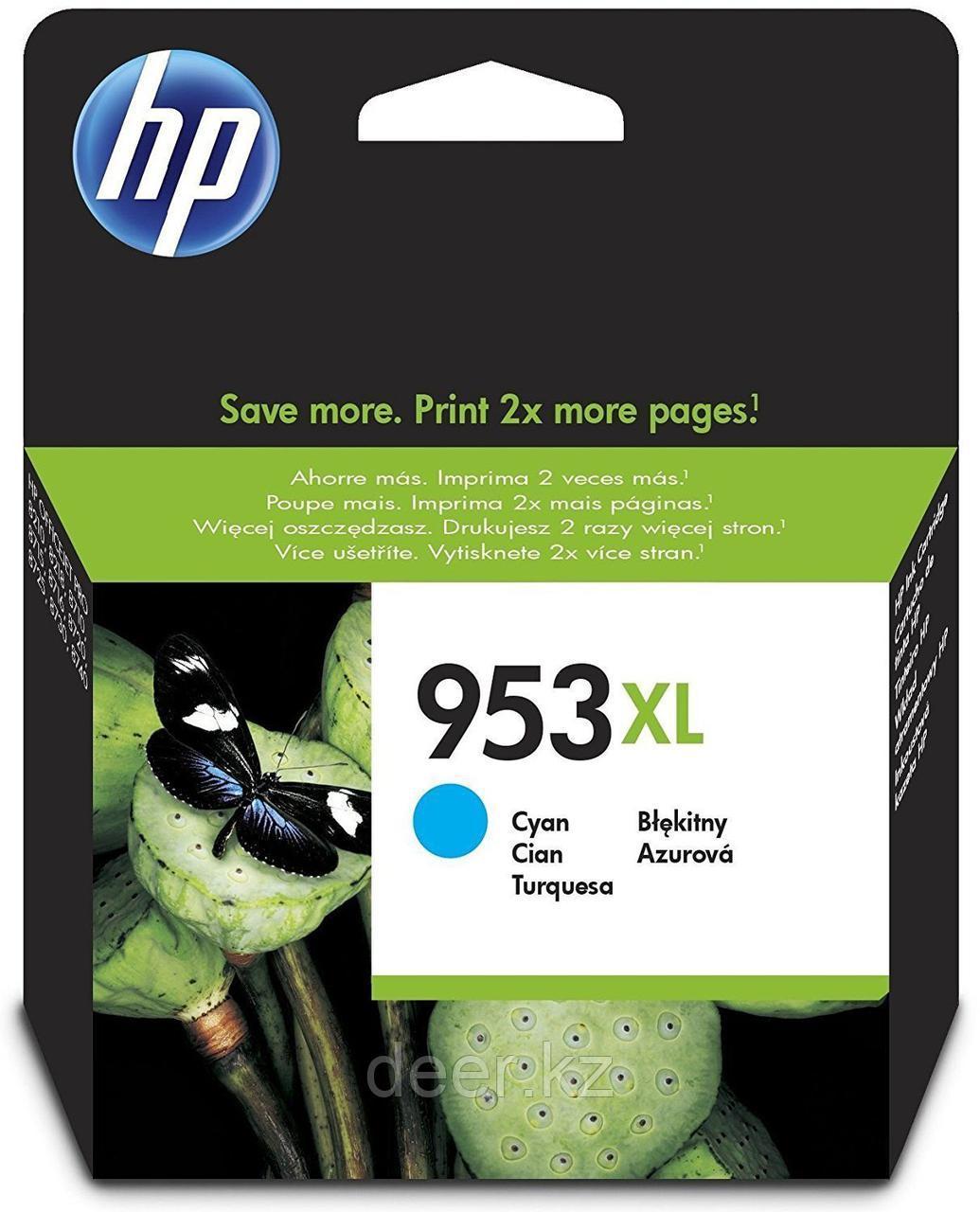 Картридж HP F6U16AE#BGX Ink/№953/cyan/7 ml