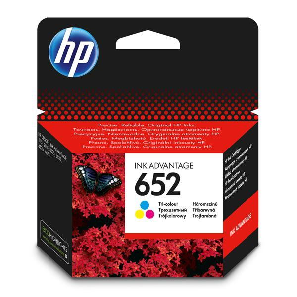 Картридж HP F6V24AE#BHK Ink/№652/tri-colour/5 мл/