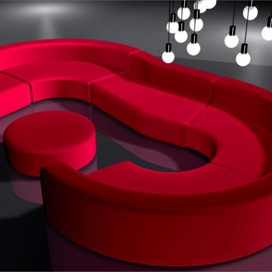 Стильные диваны для баров