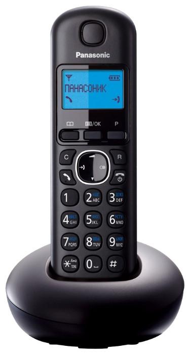 Panasonic KX-TGB210CAB DECT телефон цвет черный