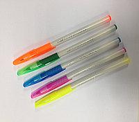 Ручка шариковая синяя Ecogrip Cube