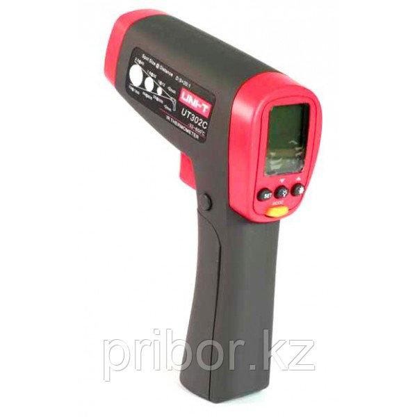 Термометр инфракрасный (пирометр)  UNI-T UT302C (-32°С  +650°С). Внесён в реестр РК
