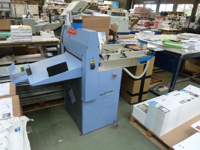 Bacciottini PIT STOP DG-line б/у 2011г - биговально-перфорационная машина