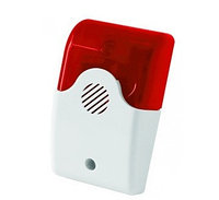 Беспроводная свето-звуковая сирена, модель SIR-100 indoor
