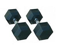 Гантели гексагональные 9 кг + 9 кг