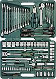 """Набор инструмента универсальный 1/4"""", 1/2""""DR, 101 предмет Jonnesway S04H624101S, фото 2"""