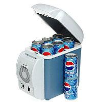 Холодильник автомобильный 7,5 литров, 12V, с функцией подогрева