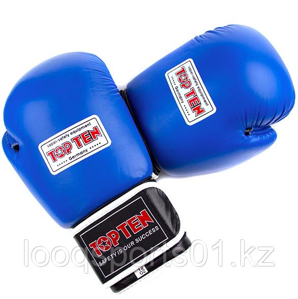 Боксерские перчатки (кожа) 8, 10, 12