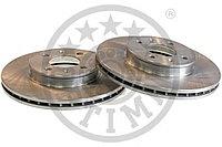 Тормозные диски  Kia Rio (JB) (05-… , передние, Optimal), фото 1