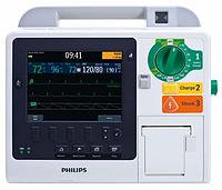 Дефибриллятор-монитор HeartStart XL+ комплекте c принадлежностями