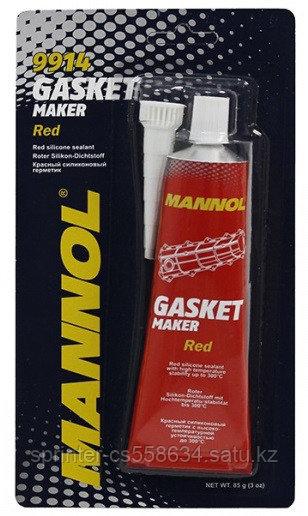 MANNOL GASKET MAKER RED (красный силиконовый герметик (-50°C - +300°C))