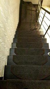Коврики для лестниц  Ангара коричневый 28x85  в розницу