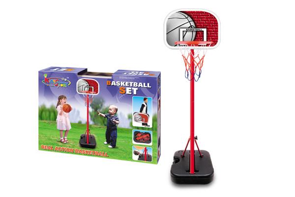 Детская баскетбольная стойка складная 116 см в чемодане