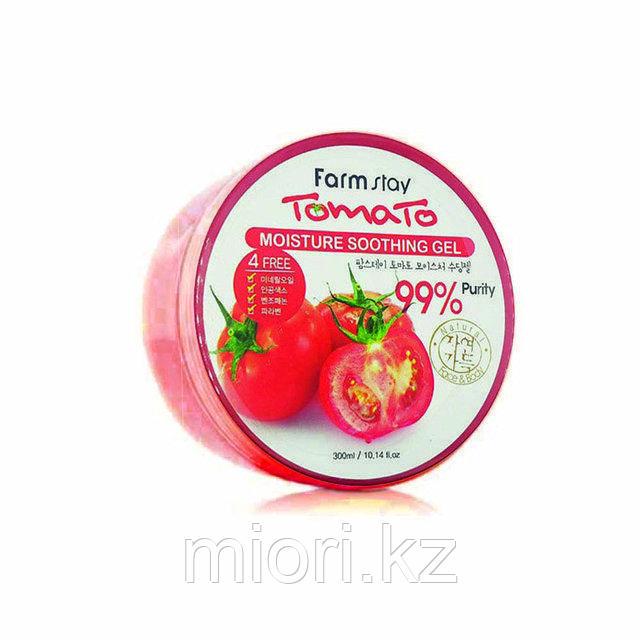 FarmStay Tomato Moisture Soothing Gel увлажняющий успокаивающий гель с экстрактом томата, 300 мл