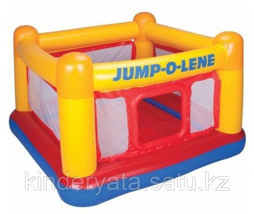 Надувной игровой центр Playhouse Jump-O-Lene Intex