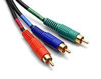 Компонентный кабель 3 RCA -3RCA 1.5 метра