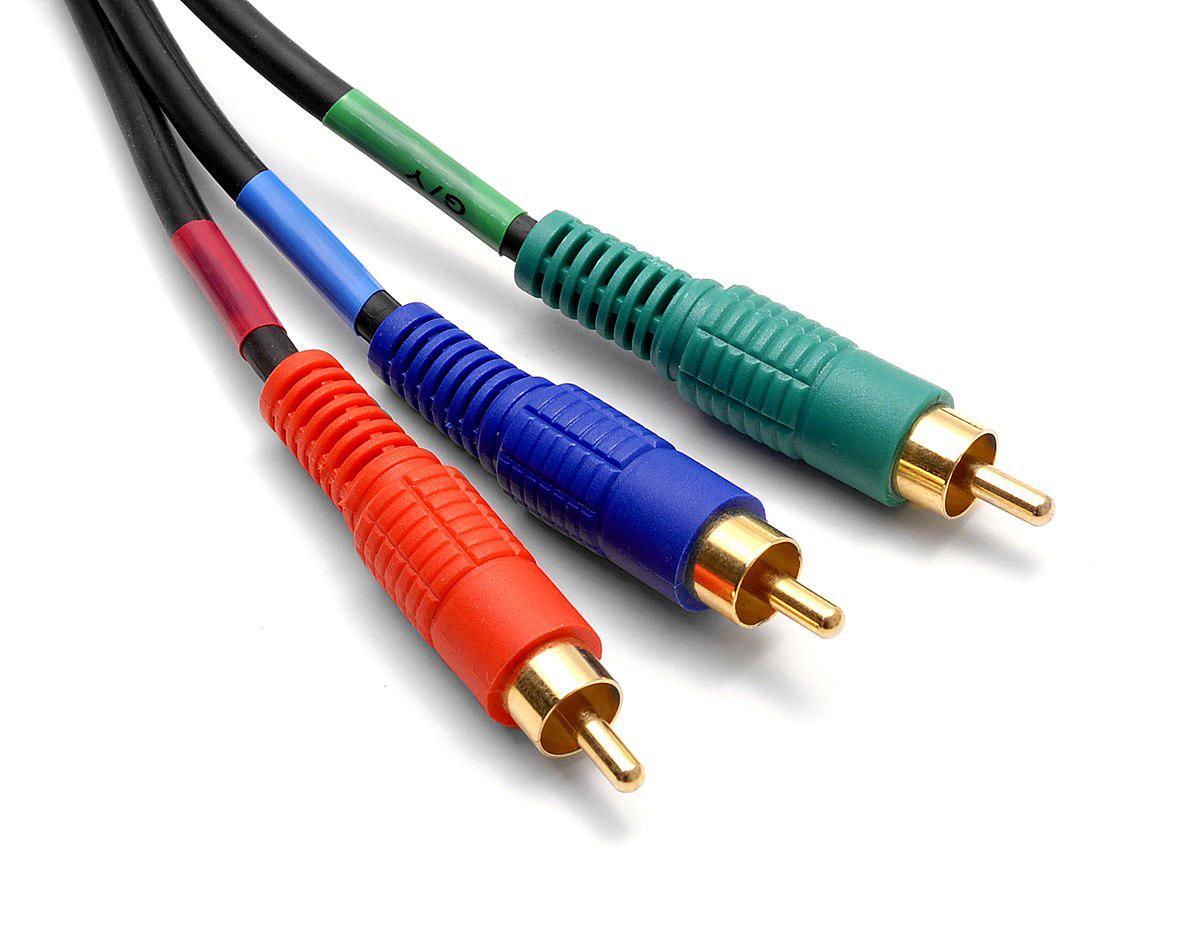 Компонентный кабель 3 RCA 5 метров