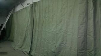 Завеса брезентовая ОП 2,5х6,9