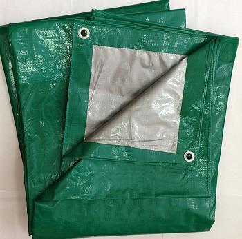 Тент тарпаулин 120 гр/м2 8х10 м