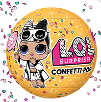 Куклы ЛОЛ Сюрприз L.O.L. Surprise! Серия 3 волна 2 : Confetti Pop Куклы ЛОЛ с конфетти