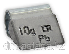 Грузик балансировочный для литых дисков 10 г (100 шт.)