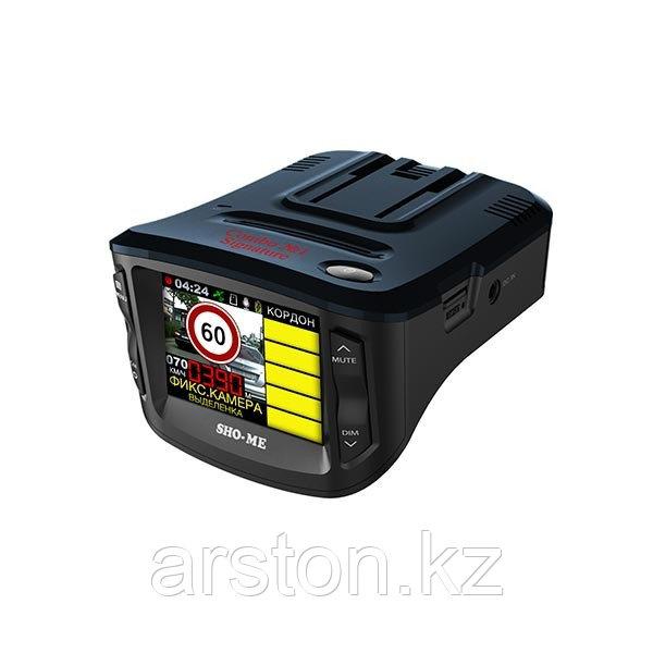 Видеорегистратор с радар детектором Sho-Me Combo №5 Signature