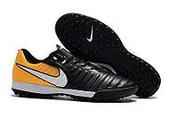 Бутсы футбольные Nike TiempoX Legend Academy VII TF Black Solar Yellow White