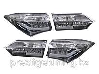 Задние фонари на Corolla 2013-17 White color