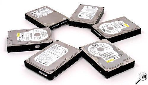 Жесткие диски для видеонаблюдения