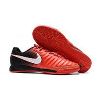 Бутсы футбольные Nike Jr. Tiempo LegendX VII Academy IC Black Red White