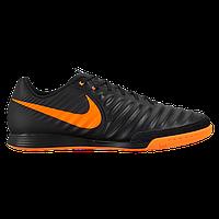 Бутсы футбольные Nike Jr. Tiempo LegendX VII Academy IC Black Orange