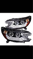 Передние фары Eagle Eyes Honda CR-V 2012-13