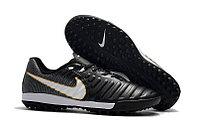 Бутсы футбольные Nike Tiempo X Lunar Legend VII Pro TF черный/белый