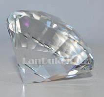 Сувенир кристалл из камня прозрачный большой 820 гр