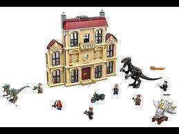 Лего конструктор LEGO 75930 Jurassic World Indoraptor Rampage в компании Lockwood Estate